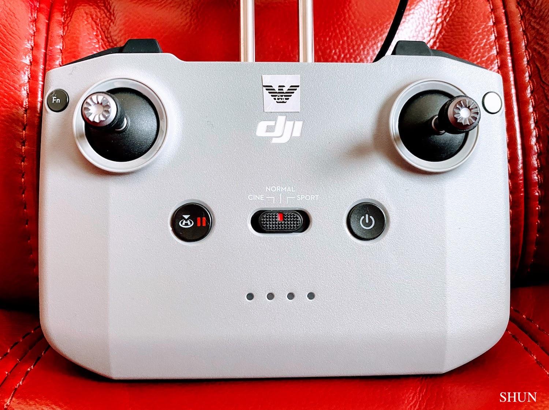 DRONE・DJI AIR2Sの送信機