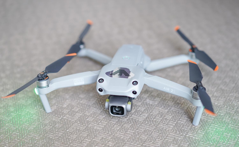 DRONE「DJI AIR2S」着陸方法