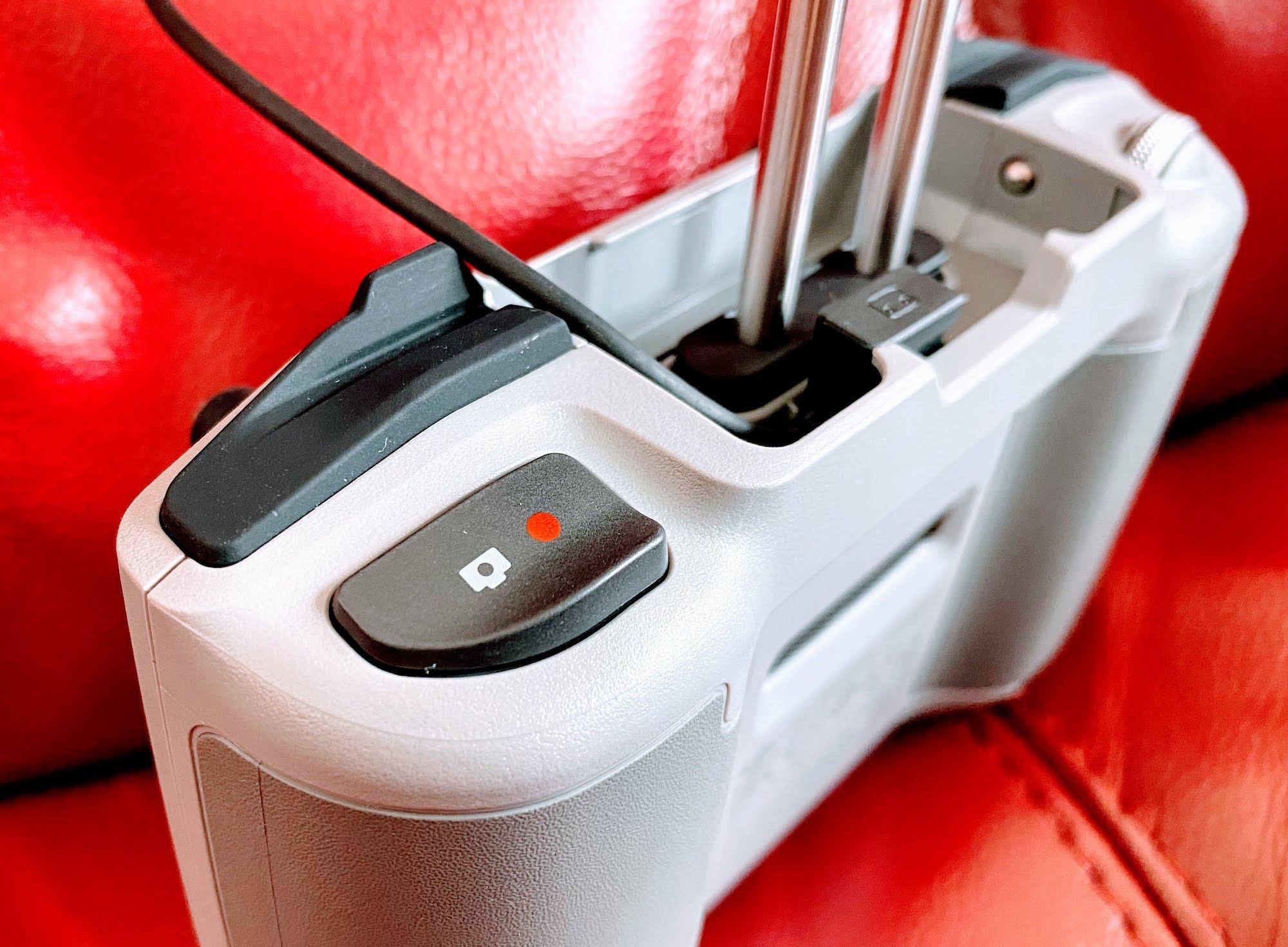 DJI AIR2S 送信機 撮影ボタン