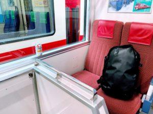 京急線のボックスシート