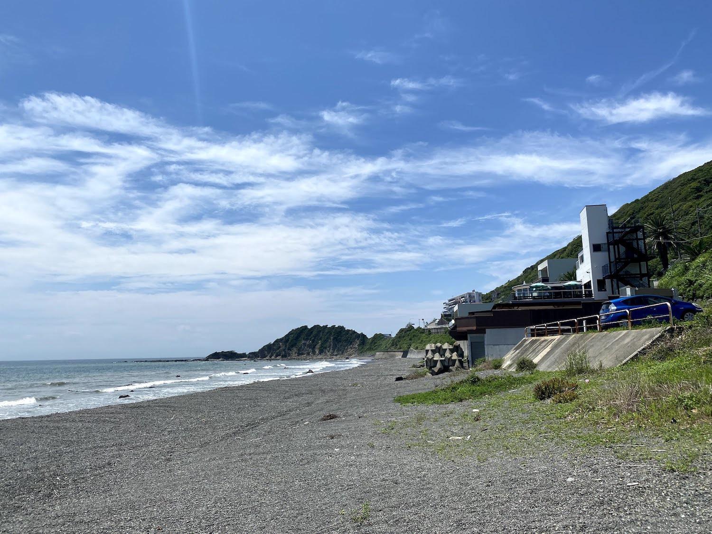 葉山の海岸