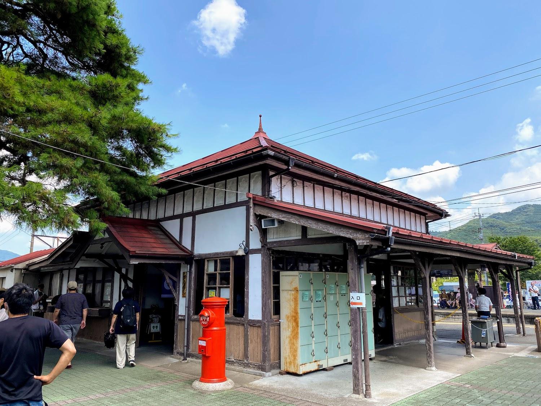 長瀞駅/2021.7.24 photo:SHUN