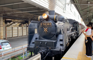 蒸気機関車 @秩父鉄道 熊谷駅