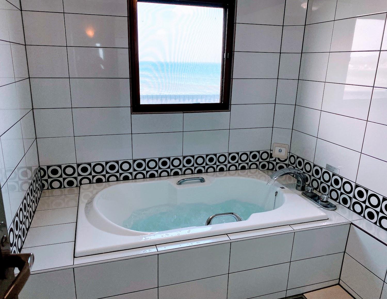 ホテルサーフサイドのバスルーム