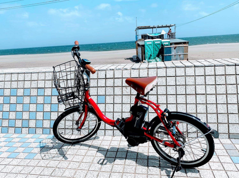 自転車(三浦海岸前)