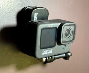 GoProのスイベルクリップ(マグネット付き)