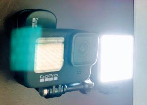 GoPro Clip & ライト
