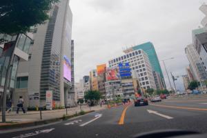 青山通りの光景 in GoPro撮影実験