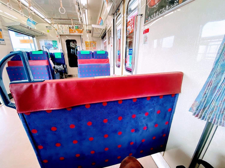 京急の座席