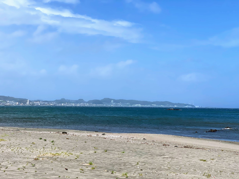 三浦海岸の海