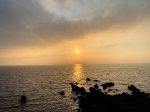 朝陽・朝焼け in 三浦海岸 2021.8.29