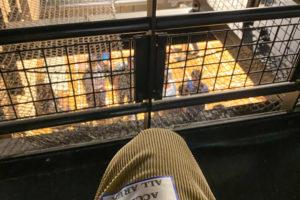 Veats Shibuya(ビーツ・シブヤ)関係者席からの眺め
