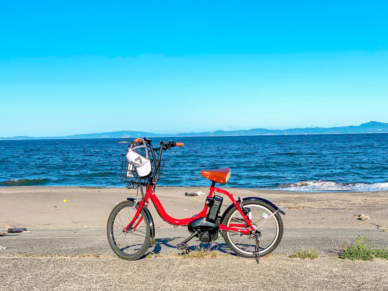 自転車 @みうらレンタサイクル in 三浦海岸