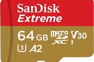 SanDisk ( サンディスク ) 64GB Extreme microSDXC