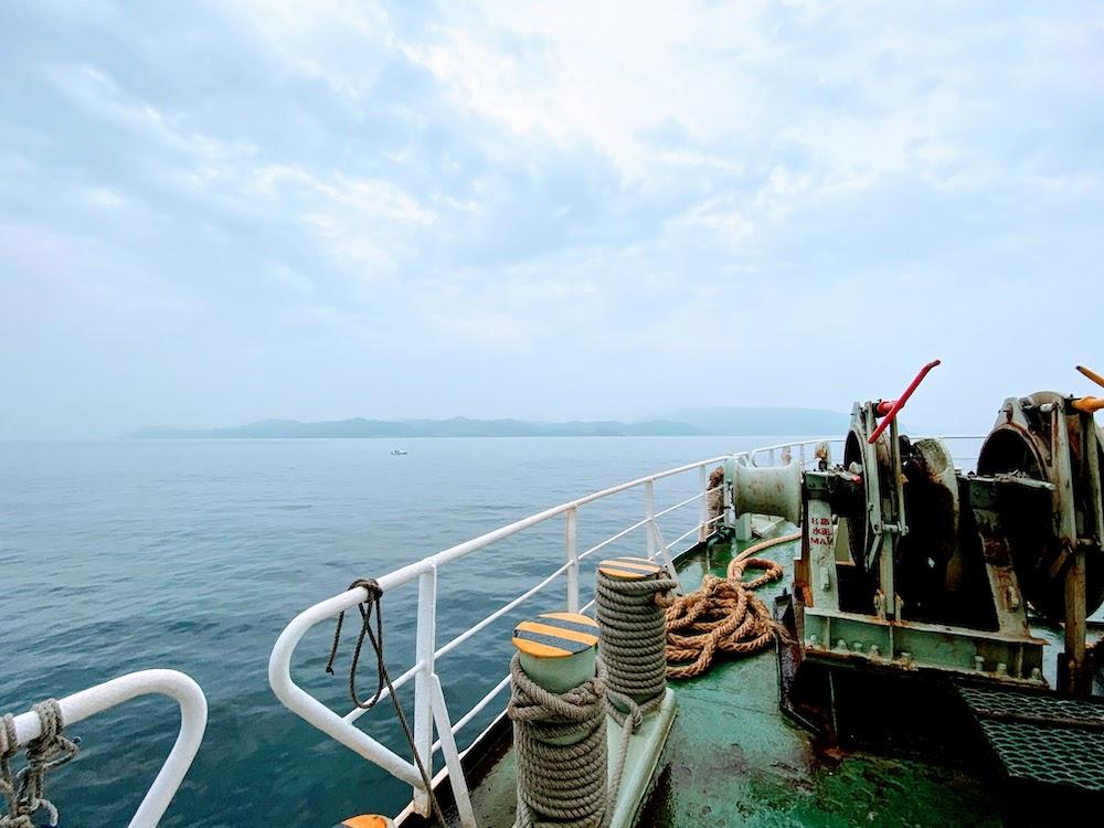 房総半島(南房総):東京湾フェリーからの眺め