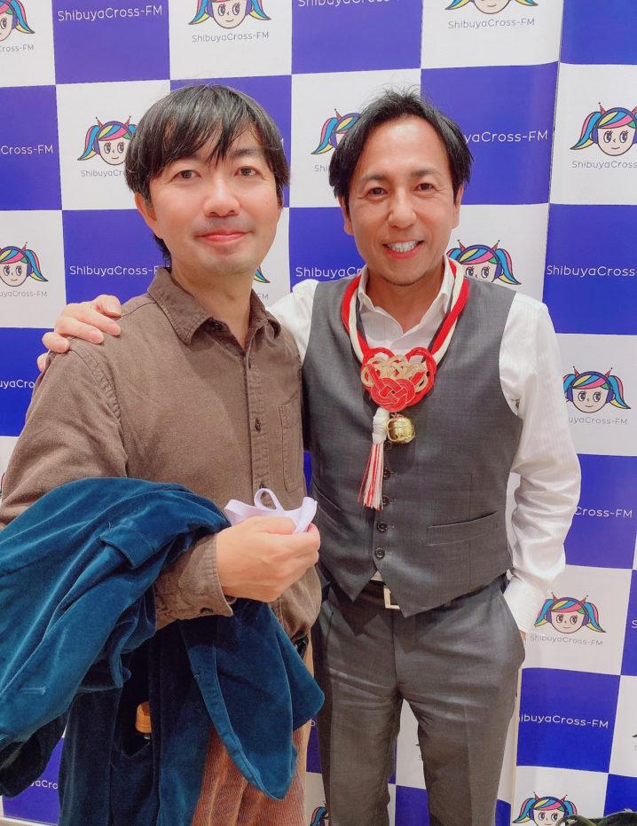 結太朗 & SHUN RocketDive 2021年10月21日、渋谷CROSS FMにて